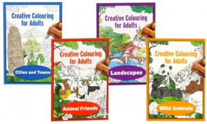 Creative Colouring Books for Adults