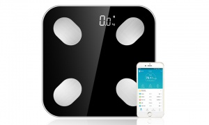 Aquarius Digital Bluetooth Bathroom Weighing Scale