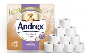 Andrex Touch of Care Toilet Tissue 54 Rolls