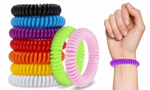 Curly Anti Mosquito Bug Insect Repellent Bracelet Wrist Band