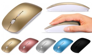 Apple Coloured Mouse