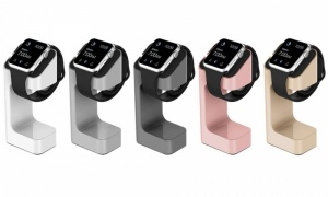 iWatch Stand in Apple Colours