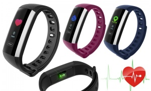 Aquarius (AQ116) Fitness Tracker with Blood Pressure & Coloured Screen