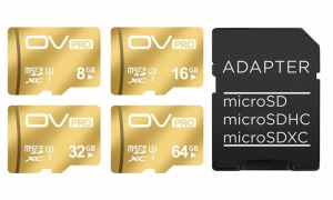 Aquarius Gold Micro SD Cards