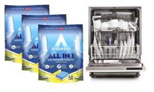 Astonish All in 1 Dishwasher Lemon Fresh 42 Tablets