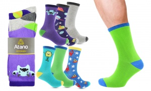 Atano Alien And Space 3 Pack Socks Assorted