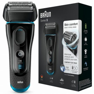 Braun 5140S Men's Electric Foil Shaver, Rechargeable and Cordless Razor