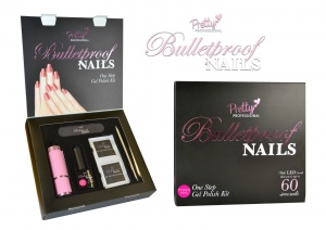 PRETTY PROFESSIONAL BULLET PROOF NAILS ONE STEP GEL POLISH KIT