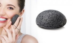 Bamboo Charcoal Konjac - cleansing and exfoilting - Face Sponge