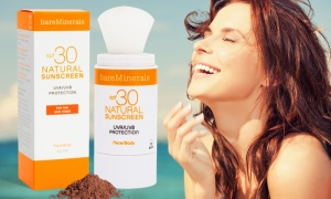 BareMineral Natural Suncreen SPF30 For Tan Skin Tones 4g