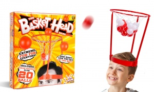 Basket Head Game With Basket