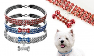 Luxury Pet Diamond Collar