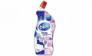 Bloo Flower Burst Fragranced Pink Liquid Gel Toilet Cleaner, 700ml