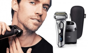 Braun Series 9 Electric Shaver for Men 9292 - Silver