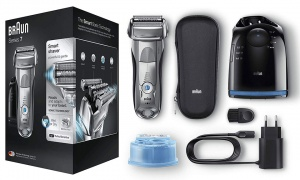 Braun Series 7-7898cc Electric Shaver for Men with Travel Case - Silver