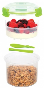 Sistema Klip It BPA Free 'Breakfast To Go' Container 530ml