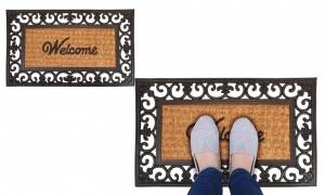 Premium Coir/Rubber Welcome Door Mat