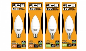 JCB Candle Light Bulb Range
