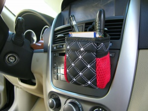 Car Phone and Accessories Holder Pouch