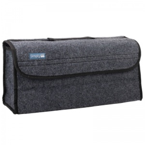 Car Van Grey Carpet Boot Storage Bag Organiser