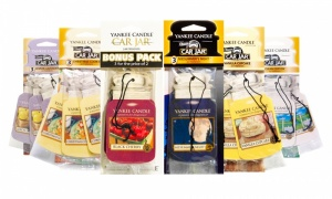 Yankee Candle Car Jar Bonus 3 Pack Car Air Fresheners