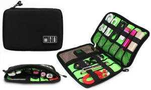 Carry Travel Organizer Bag - Black