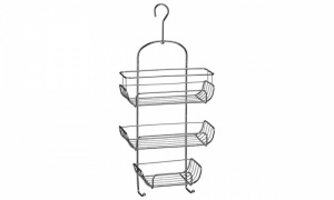 3 Tier Chrome Shower Caddy
