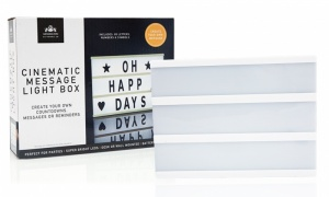 Cinematic Message Light Box A5