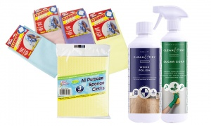 Clean and Tidy Home Cleaning Bundle