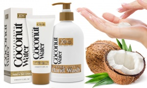 Coconut Hand and Nail Care Bundle