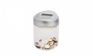 Digital LCD Coin Counting Jar