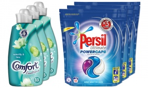 BUY 3 Comfort Creations Fabric Conditioner With BUY 3 Persil Powercaps Non Bio
