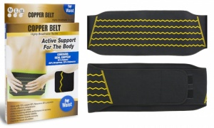 Copper Belt Active Support For Waist