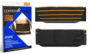 Copper Relief Compression Wear Unisex Back Belt