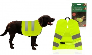 Cruft HI VIS Pet Safery Vest Assorted