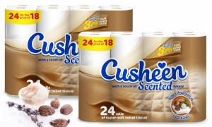 Cusheen Quilted Shea Butter Scented Toilet Paper