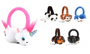Doodle Unicorn / Animal Headphone
