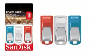 Sandisk Cruzer Edge 16gb Triple Pack