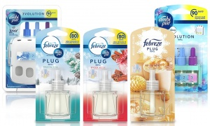 Ambi Pur 3Volution Air Freshner Plug-In Starter Kit With Refills
