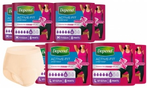 Depend Active-Fit Incontinence Pants for Women