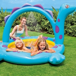 Dino Spray Paddling Pool