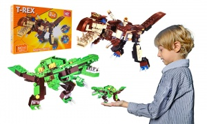 Dinosaur Building Bricks Toy Set (2 Assorted)