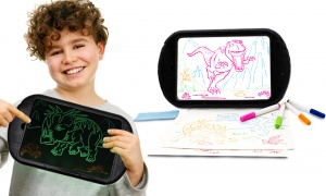 Dinosaur Light Magic Drawing Board