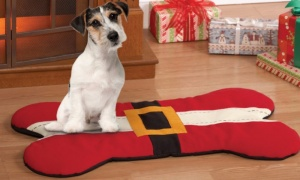 Christmas Dog Bone Design Pet bed