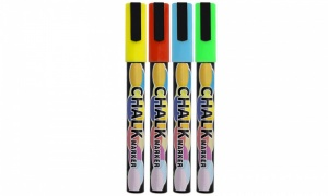 Doodle Chalk Markers Pack of 4 Colours