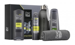 Dove Man + Care Gym Essentials Gift Set