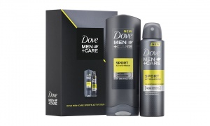 Dove M+C Sports Active Duo Gift Set