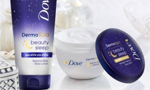 Pack Of 6 Dove Overnight Mani Hand Cream 75ml