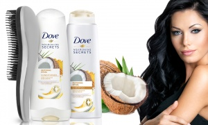 Dove Shampoo+ Conditioner with Detangling Brush