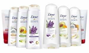 Dove Shampoos & Conditioners